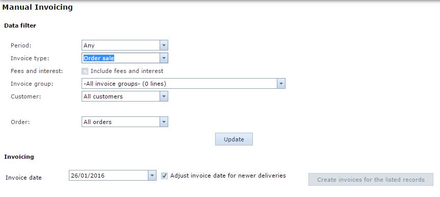 Invoice Module CoDatahost Knowtronic - Invoice module